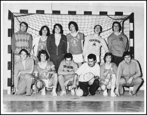 Equipe des 5 présidents 1970 (Bernard Parthonnaud - Claude Robin - Jean Marc Pasquet - Dominique Espinasse - Patrick Tribondeau