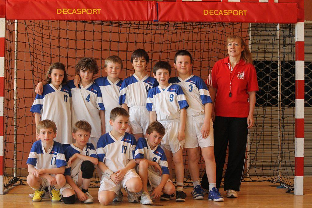 Equipe 2 des -de 11 ans - Entraineur Dominique