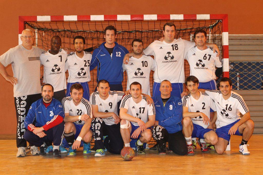 Equipe première 2012-2013