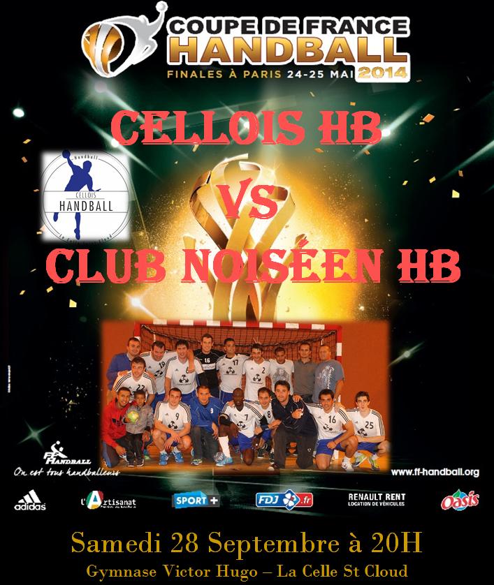 1er tour de la coupe de france cellois handball - Coupe de france 1er tour ...