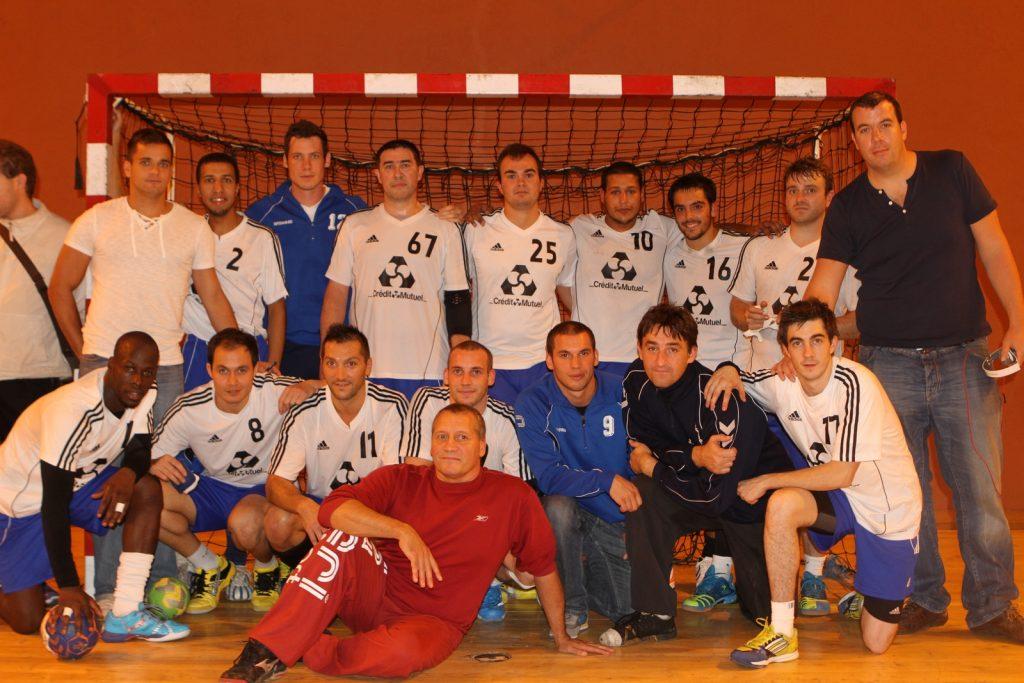 Equipe première masculins 2013 2014