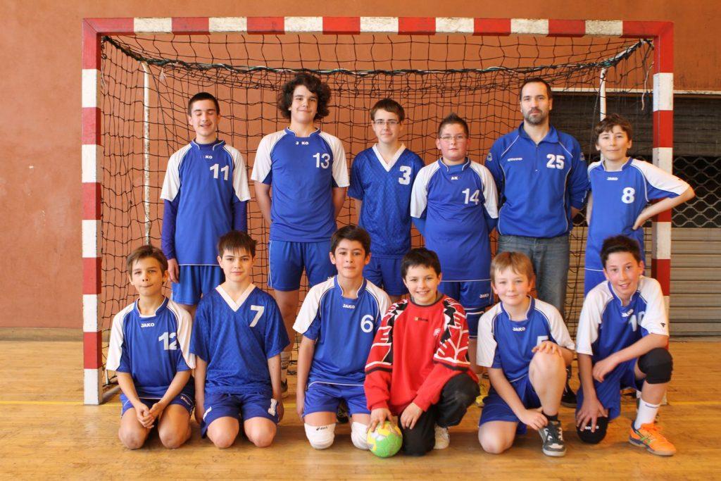 Equipe des moins de 13 ans saison 2013-2014