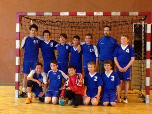 Equipe des moins de 13 au dernier match de la saison 2013-2014