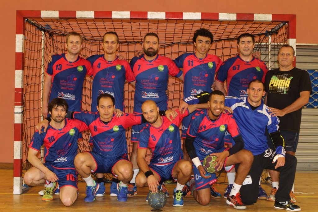 Equipe première 2016-2017