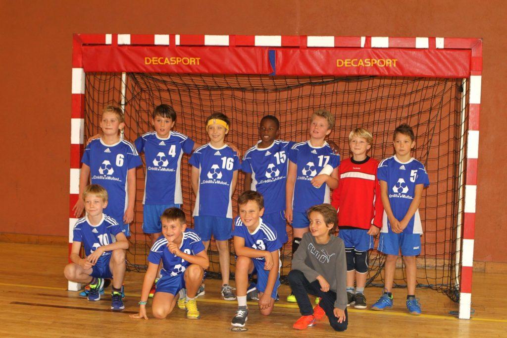 Equipe des moins de 11 ans